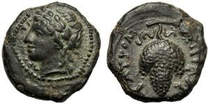 Sicilia, Bronzo, Taormina, c. 325-275 a.C., ...