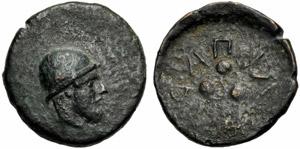 Isole della Sicilia, Tetras, Lipari, c. 425 ...