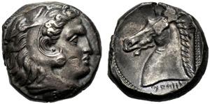Dominio Punico, Tetradramma, Entella (?), c. ...