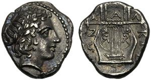 Macedonia, Lega Calcidica, Tetrobolo, ...