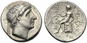 Re Seleucidi della Siria, Antioco I ...