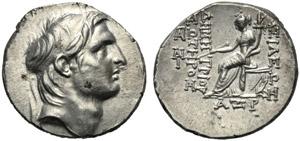 Re Seleucidi della Siria, Demetrio I ...