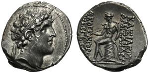 Re Seleucidi della Siria, Alessandro I Balas ...