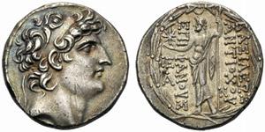Re Seleucidi di Siria, Antioco VIII ...