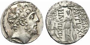 Re Seleucidi della Siria, Antioco IX ...