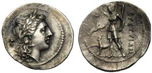 Bruttium, I Brettii, Emidracma, c. 216-214 ...