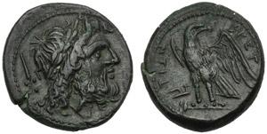 Bruttium, I Brettii, Unità, c. 211-208 ...