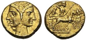 Bruttium, Occupazione Cartaginese,  3/8 ...