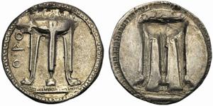 Bruttium, Crotone, Statere, c. 530-500 a.C.; ...