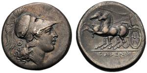 Campania, Didramma, Cales, c. 265-240 a.C.; ...