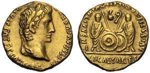 Augusto (27 a.C. - 14 d.C.), Aureo, ...