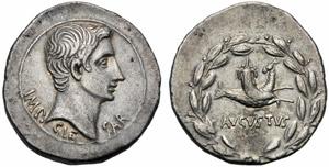 Augusto (27 a.C. - 14 d.C.), Tetradracma - ...