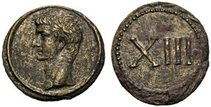 Emissione anonima (età di Tiberio), ...