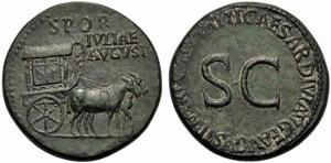 Livia (Tiberio, 14-37), Sesterzio, Roma, ...