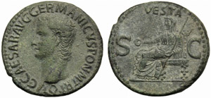 Gaio, detto Caligola (37-41), Asse, Roma, ...