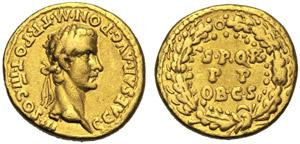 Gaio, detto Caligola (37-41), Aureo, Roma, ...