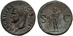 Agrippa (Gaio, 37-41), Asse, Roma, dopo il ...