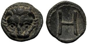 Bruttium, Emilitra, Reggio, c. 415-387 a.C.; ...