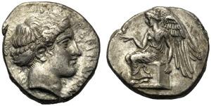 Bruttium, Statere, Terina, c. 420-400 a.C.; ...