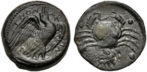 Sicilia, Emilitra, Agrigento, c. 425-406 ...