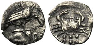 Sicilia, Emilitra, Agrigento, c. 420-406 ...