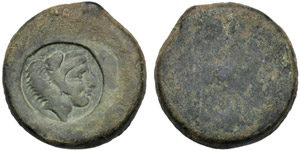 Sicilia, Emilitra, Agrigento, c. 405-392 ...