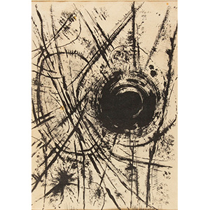 PITTORE ANONIMO ANNI '50  Untitled, 1958 ...