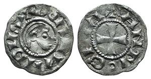 Crusaders. Antioch, Bohemund III (Minority, ...