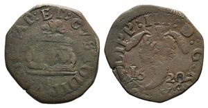 Italy, Napoli. Filippo III (1598-1621). Æ ...