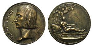 Pietro Bembo (1470-1457). Æ Medal (38mm), ...