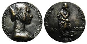 Ludovica Morelli, wife of Bernardo Morelli. ...
