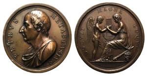 Pietro Metastasio (1698-1782), poet and ...