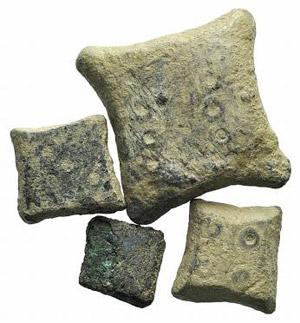 Lot of 4 Æ Romano-Byzantine Weights. Lot ...