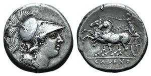 Campania, Cales, c. 265-240 BC. AR Didrachm ...