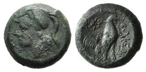Campania, Cales, c. 265-240 BC. Æ (17mm, ...