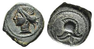 Spain, Punic Iberia, c. 237-209 BC. Æ 1/5 ...