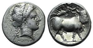 Campania, Neapolis, 300-275 BC. AR Nomos ...