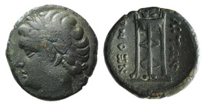 Campania, Neapolis, c. 300-275 BC. Æ (13mm, ...