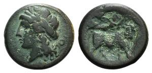 Campania, Neapolis, c. 275-250 BC. Æ (20mm, ...