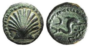 Iberia, Arse-Saguntum, c. 200-150 BC. Æ ...