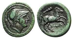 Anonymous, Rome, c. 230 BC. Æ (16mm, 2.96g, ...