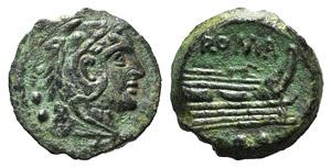 Anonymous, Rome, after 211 BC. Æ Quadrans ...