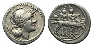 Anonymous, Southeast Italy, 211-210 BC. AR ...