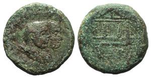 Sardinia, Caralis, c. 40 BC. Æ (30mm, ...
