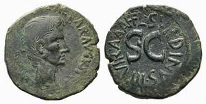 Augustus (27 BC-AD 14). Æ As (27mm, 11.82g, ...