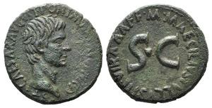 Augustus (27 BC-AD 14). Æ As (27mm, 11.77g, ...
