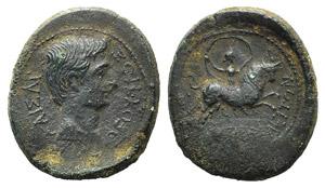 Augustus (27 BC-AD 14). Macedon, Amphipolis. ...