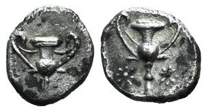 Northern Apulia, Tarentum, c. 280-228 BC. AR ...