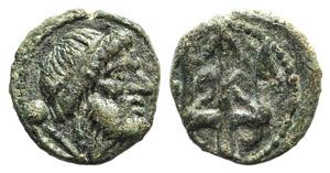 Northern Lucania, Paestum, c. 218-201 BC. Æ ...