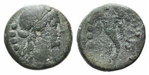 Northern Lucania, Paestum, 218-201 BC. Æ ...